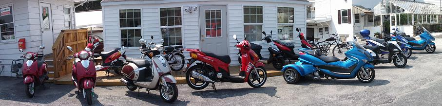 Gas Powered Scooters York PA's Biggest Dealer